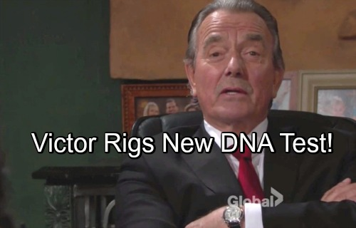 The Young and the Restless Spoilers: Victor Tampers with Next DNA Test – Jack's a Blood Abbott, But Gets Duped by Enemy's Trick