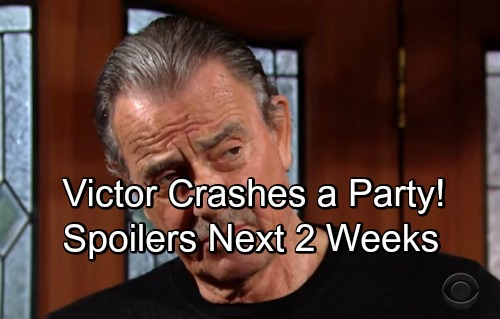 The Young and the Restless Spoilers: Next 2 Weeks - Mariah Recalls J.T. Murder Clue – Victor Crashes a Party – Hilary Confesses