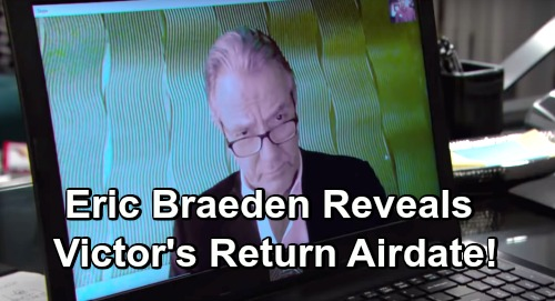The Young and the Restless Spoilers: Eric Braeden Reveals Return Airdate – Victor's Explosive Comeback Stuns GC