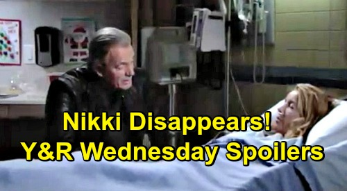 The Young and the Restless Spoilers: Wednesday, December 26 – Nikki Disappears – Jack Bittersweet Moment With Dina