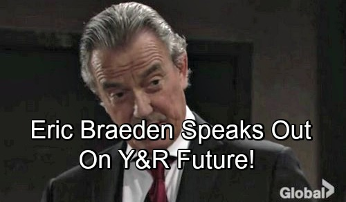 The Young and the Restless Spoilers: Eric Braeden Speaks Out on His Future at Y&R – Addresses Fans' Departure Panic