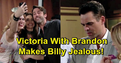 The Young And The Restless Spoilers Billy Vs Brandon Rivalry For
