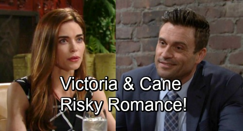The Young and the Restless Spoilers: Cane Couple's With Victoria In New Year - Fragile Ashby Family Leads To New Love?