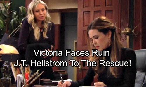 The Young and the Restless Spoilers: Victoria Faces Ruin, Newman Enterprises In Trouble - J.T. Hellstrom To The Rescue