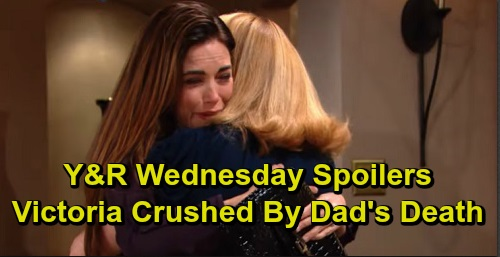 The Young and the Restless Spoilers: Wednesday, September 18 – Victoria Crushed by Victor 'Death' News – Michael Blames Adam