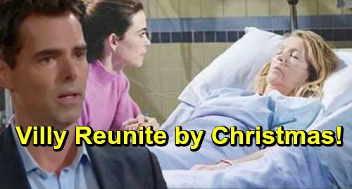 The Young and the Restless Spoilers: Victoria and Billy Bond Over Nikki's Tragedy – Villy Reunite In Time For Christmas