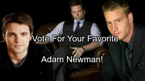 'The Young and The Restless' Spoilers: Who Is Your Favorite Adam Newman?
