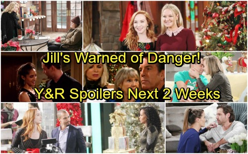 The Young and the Restless Spoilers: Next 2 Weeks - Jill Warned of Danger – Cane and Lily Targets – Sharon Demands the Truth