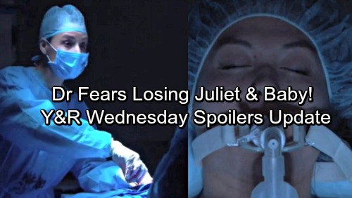 The Young and the Restless Spoilers: Wednesday, November 8 Update - Cane Horrified by Juliet Medical Crisis – Crystal Shocker