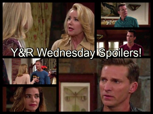 The Young and the Restless Spoilers: Jack and Billy Face Off – Nikki's Harsh Words for Sharon – Nick Crushes Dylan