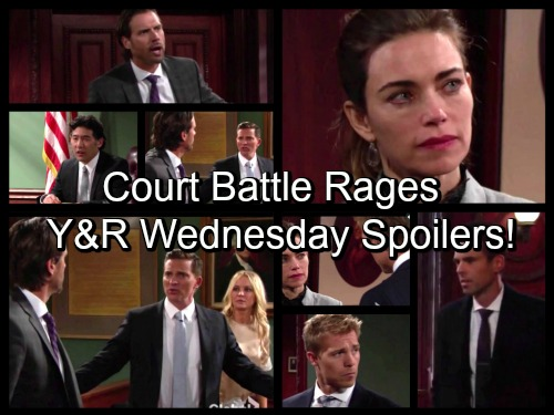 'The Young and the Restless' Spoilers: Judge Quiets Rowdy Dylan, Nick Faceoff – Travis Admits Cheating To Victoria
