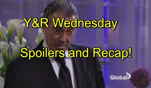 The Young and the Restless Spoilers: Victor's Shocking Memorial Speech - Phyllis Back In Bed With Billy - Cane Tricks Jill