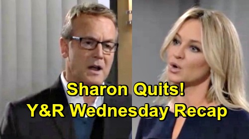 The Young and the Restless Spoilers: Wednesday, March 27 Recap – Kyle Comes Clean to Jack – Lola's Blue - Sharon Quits In Protest