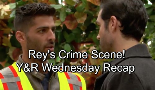 The Young and the Restless Spoilers: Wednesday, November 7 – Victoria Panics Over Mac's News – Rey's Crime Scene – Billy Drops a Bomb