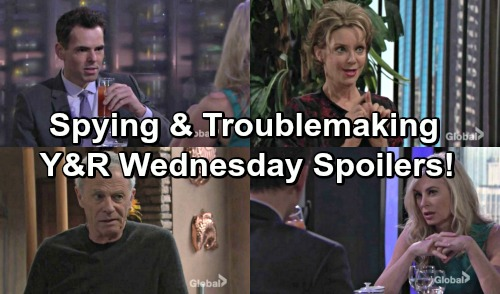 The Young and the Restless Spoilers: Billy Pumps Ashley for Info – Gloria Puts Ravi in His Place – Colin Stirs Up More Trouble