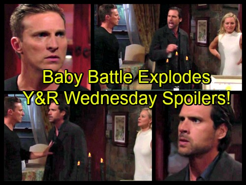 'The Young and the Restless' Spoilers: Dylan and Nick's Baby Battle – Mariah Crumbles In Fear – Chloe Has a Close Call
