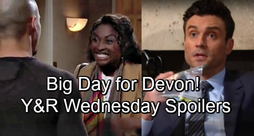 The Young and the Restless Spoilers: Wednesday, November 28 – Devon's Big Surprise – Cane's Concerns Grow – Kyle Faces a Decision