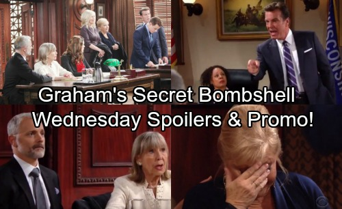 The Young and the Restless Spoilers: Wednesday, January 10 – Graham's Courtroom Bombshell Shocks Abbotts, Changes Genoa City