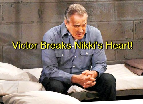 The Young and the Restless (Y&R) Spoilers: Victor Breaks Nikki's Heart – Dr Gates Debuts – Neville and Stitch Spar