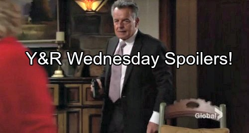 'The Young and the Restless' Spoilers: Victor's Brilliant Move Defeats Ian Ward - Nikki Grateful as Villain Arrested