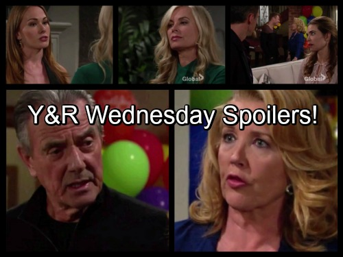 The Young and the Restless Spoilers: Victor and Nikki Explosive Argument – Michelle Confesses – Billy Fears for Victoria