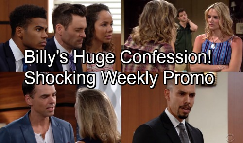 The Young and the Restless Spoilers: Shocking Weekly Promo Sept 3-7 – Billy's Huge Confession – Courtroom Uproar at Lily's Verdict
