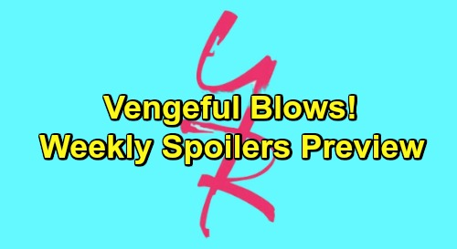 The Young and the Restless Spoilers: Week of January 28-February 1 – Vengeful Blows, Startling Schemes and Costly Mistakes