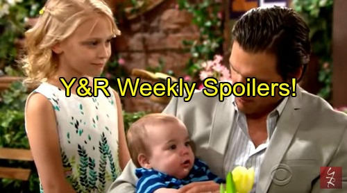 The Young and the Restless (Y&R) Spoilers: Week of May 23 - Adam's Arrest – Jill Back - Victor's Divorce - Bethany's Debut