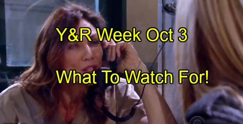 'The Young and the Restless' Spoilers: Week of October 3-7 – Vengeful Traps, Stunning Revelations and Secret Bonds