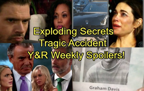 The Young and the Restless Spoilers: Week of October 9 – Exploding Secrets, Alarming Accidents and Total Devastation