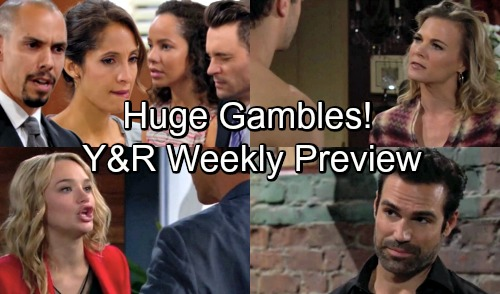 The Young and the Restless Spoilers: Week of September 3-7 Update – Huge Gambles, Heartfelt Promises and Questionable Motives