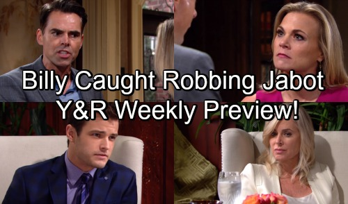 The Young and the Restless Spoilers: Hot Y&R Promo - Kyle Catches Billy Stealing, Tells Ashley - Billy Lashes Out At Phyllis