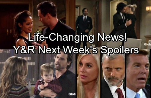 The Young and the Restless Spoilers: Week of January 1-5 – Shocking Blows, Huge Decisions and Life-changing News