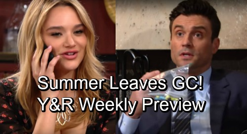 The Young and the Restless Spoilers: Hot Promo Week of November 26 – Summer Accepts Victor's Singapore Job Offer - Devon's Addiction