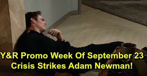 The Young and the Restless Spoilers: Week of September 23 Promo – Adam's Meltdown Sparks a Crisis – Victor's Back – Theo's Bloody Scare