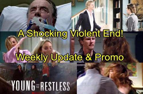 The Young and the Restless Spoilers: Week of April 9-13 – Brutal Battles, Unraveling Secrets and a Shocking Death