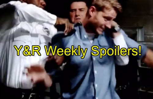 The Young and the Restless Spoilers: Week of August 15 – Prison Insanity, Adam Tased - Chancellor Mansion Fully Restored