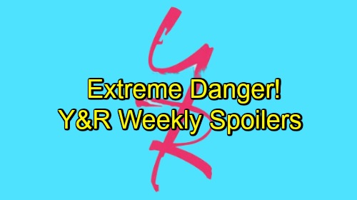 The Young and the Restless Spoilers: Week of December 3 – Extreme Danger, Tough Temptation and Crossed Lines
