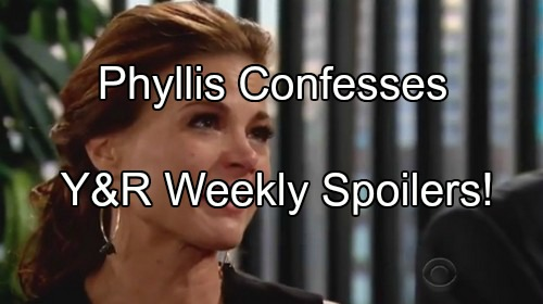 'The Young and the Restless' Spoilers: Bombshell Evidence - Phyllis Confesses to Jack - Adam Stunned by Chloe's Vendetta