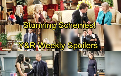 The Young and the Restless Spoilers: Week of March 19-23 – Fierce Feuds, Stunning Schemes and Ruined Romances