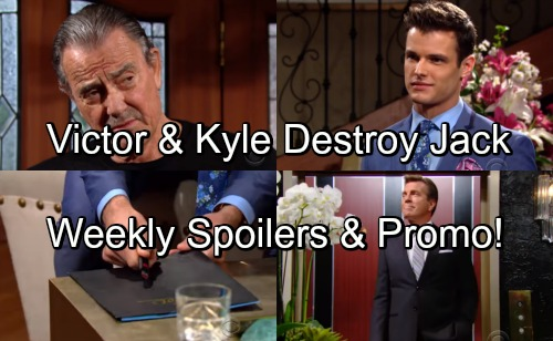 The Young and the Restless Spoilers: Week of April 30 to May 4 – Victor and Kyle Destroy Jack With Ultimate Weapon