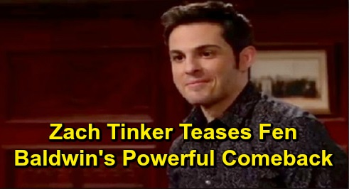 The Young and the Restless Spoilers: Zach Tinker Previews Fen's 'Powerful' Comeback – What to Expect During Holiday Return Stint