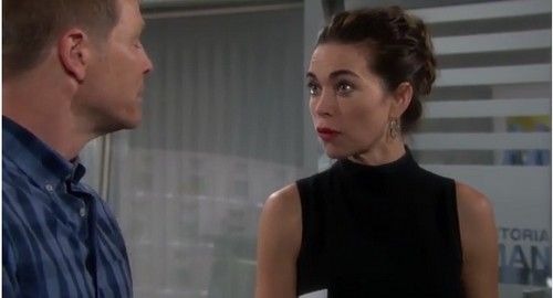 'The Young and the Restless' Spoilers: Gabriel Blackmails Victor, Scores Promotion, Victoria Rebels - Sage Says Baby Is Nick's