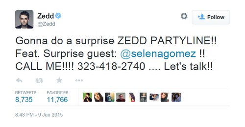 Selena Gomez and Zedd Dating: Justin Bieber Forgotten as Zeddlena in Love At Golden Globe After-Party?