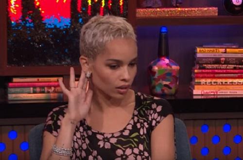 Zoë Kravitz Addresses Taylor Swift And Katy Perry's Feud